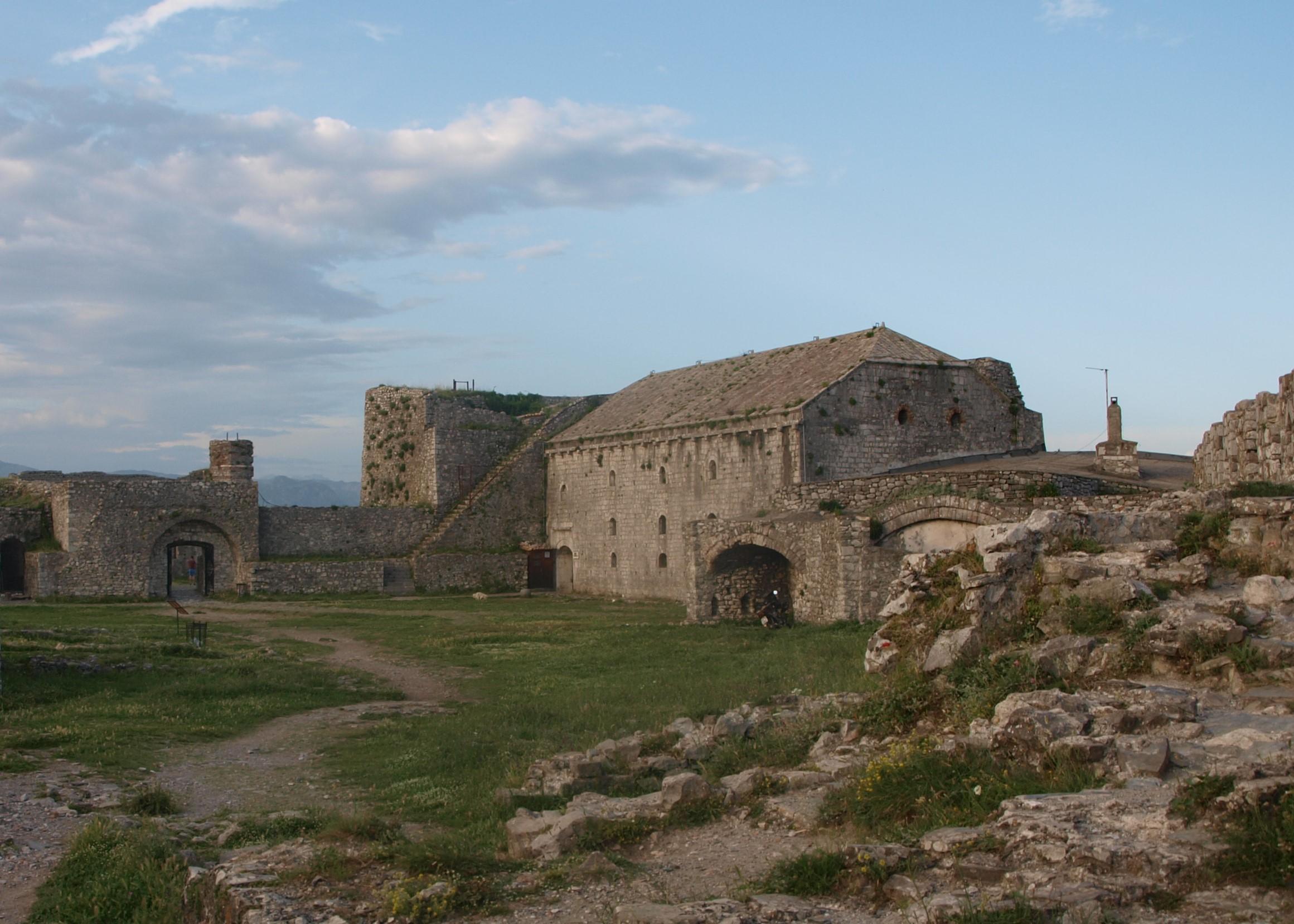Rozafa castle shkoder Albanie